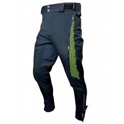 kalhoty dlouhé unisex HAVEN RAINBRAIN LONG černo/zelené