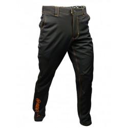 kalhoty dlouhé unisex HAVEN FUTURA NEO černo/oranžové