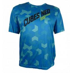 dres krátký pánský HAVEN CUBES NEO modrý