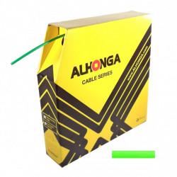 bowden brzdový 5mm 2P Alhonga 30m zelený box