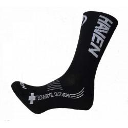 ponožky HAVEN LITE SILVER NEO LONG 2páry černo/bílé