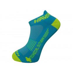 ponožky HAVEN SNAKE SILVER NEO 2páry modro/žluté