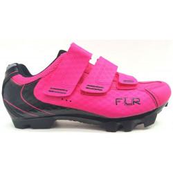 boty FLR F-55 neon růžové