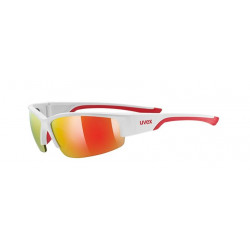 brýle UVEX Sportstyle 215 bílo/červené