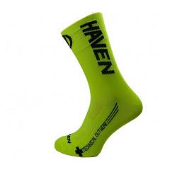 ponožky HAVEN LITE SILVER NEO LONG 2páry žluto/černé