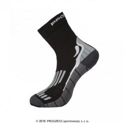 ponožky Progress RUNNING HIGH SOX černé