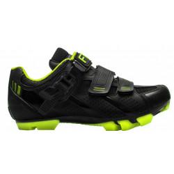 boty FLR F-65 černo/neon žluté
