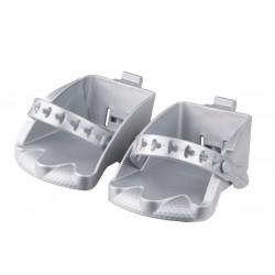 stupačky sedačky Polisport Bilbi Junior stříbrné