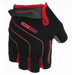 rukavice Poledník LINES SH červené
