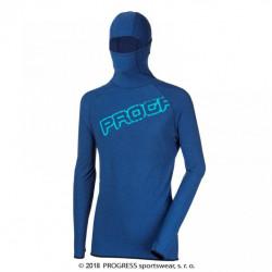 mikina pánská Progress FOCUS modrá