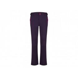 kalhoty dlouhé dámské LOAP LUCIEN softshell fialové