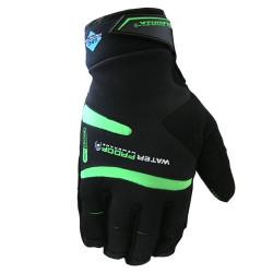 rukavice Polednik WINPRO černo-zelené zimní