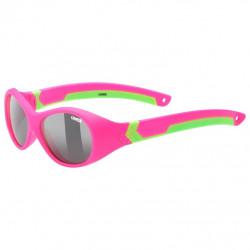brýle UVEX Sportstyle 510 růžovo/zelené