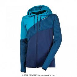 mikina pánská Progress MOHICAN modrá