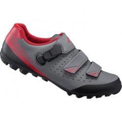 boty Shimano ME3 šedo-červené