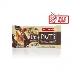 tyčinka Nutrend DeNuts slané arašídy v hořké čokoládě 40g