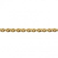 řetěz KMC X10EL zlatý 114 čl. BOX