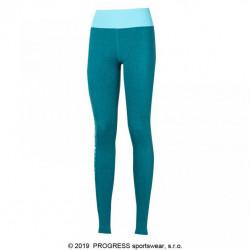 kalhoty dlouhé dámské Progress BETTY zeleno/modré
