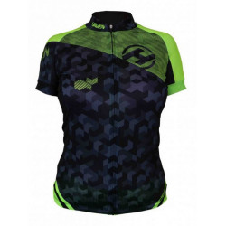 dres krátký dámský HAVEN SINGLETRAIL černo/zelený
