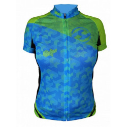 dres krátký dámský HAVEN SINGLETRAIL modro/zelený