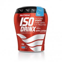 nápoj Nutrend ISODRINX WITH CAFFEINE 420g modrá malina
