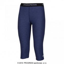 kalhoty 3/4 dámské Progress CAPRICE 3Q modré