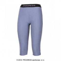 kalhoty 3/4 dámské Progress CAPRICE 3Q šedé