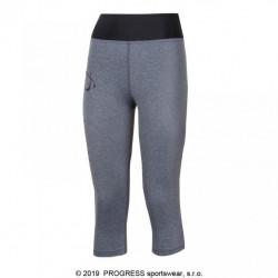 kalhoty 3/4 dámské Progress IMPALA 3Q šedé