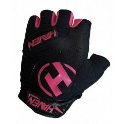 rukavice HAVEN DEMO SHORT černo/růžové