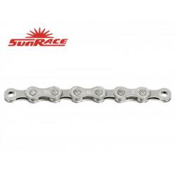 řetěz SunRace CNM9E 9k E-BIKE 136čl. stříbrný