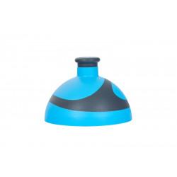 víčko 2K na lahev R&B modrá/antracit