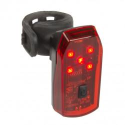 osvětlení zadní brzdové Ventura Helios bateriové 5LED