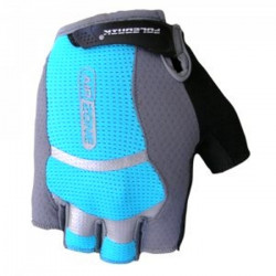 rukavice dámské Poledník VESNA černo-modrá