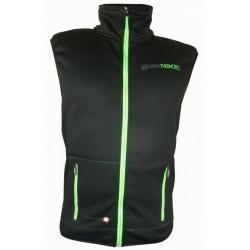 vesta pánská HAVEN Thermotec černo/zelená