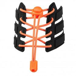 tkaničky reflexní elastické oranžové