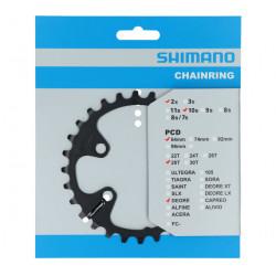převodník 28z Shimano Deore FC-M6000 2x10 4 díry