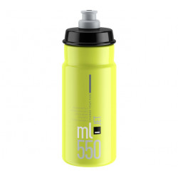 lahev ELITE Jet Yellow fluo černé logo, 550 ml