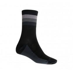 ponožky SENSOR COOLMAX SUMMER STRIPE černo/šedé