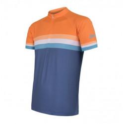 dres krátký pánský SENSOR SUMMER STRIPE modro/oranžový