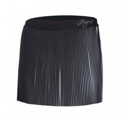 sukně dámská Progress LAMELLA+šortky černo/bílá