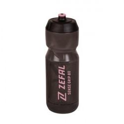 lahev ZEFAL SENSE GRIP 80 černá růžový potisk