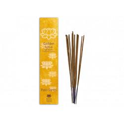 tyčiny vonné Golden Lotus - svaté dřevo