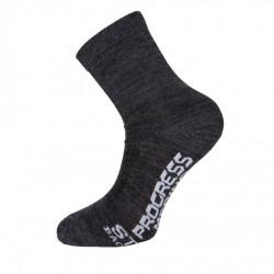 ponožky Progress MANAGER Merino Lite šedé