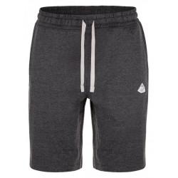 kalhoty krátké pánské LOAP ECARO černo/šedé žíhané