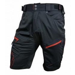 kalhoty krátké pánské HAVEN NAVAHO SLIMFIT černo/červené