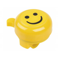 zvonek M-Wave SMILEY žlutý