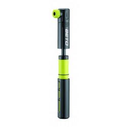 hustilka BETO CRH-015P dvoucestná plastová černo-zelená