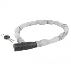 zámek  M-Wave 15x800mm pletený černý s reflexním potahem