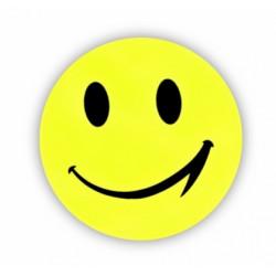samolepka reflexní smajlík velký žlutý