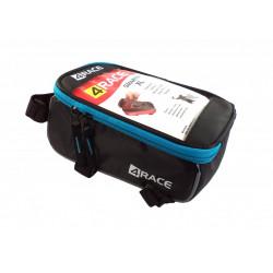 """brašna 4RACE přední na mobil XL 5,5"""" černo-modrá"""
